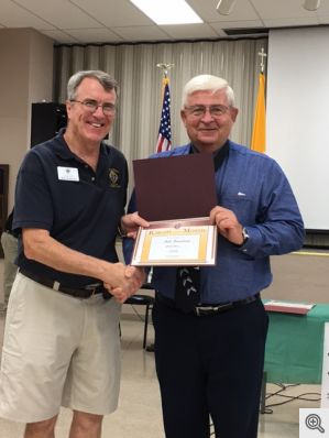 Knight of the Month Bob Bowman
