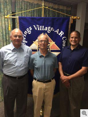 Rick Phillips, Al Hanschmann, and Nick DeMarco