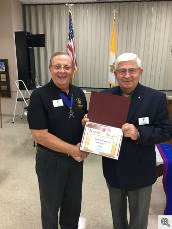 Murray Claassen - August 2017 Knight of the Month